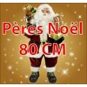 Pères Noël 80cm
