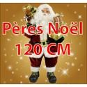 Pères Noël 120cm